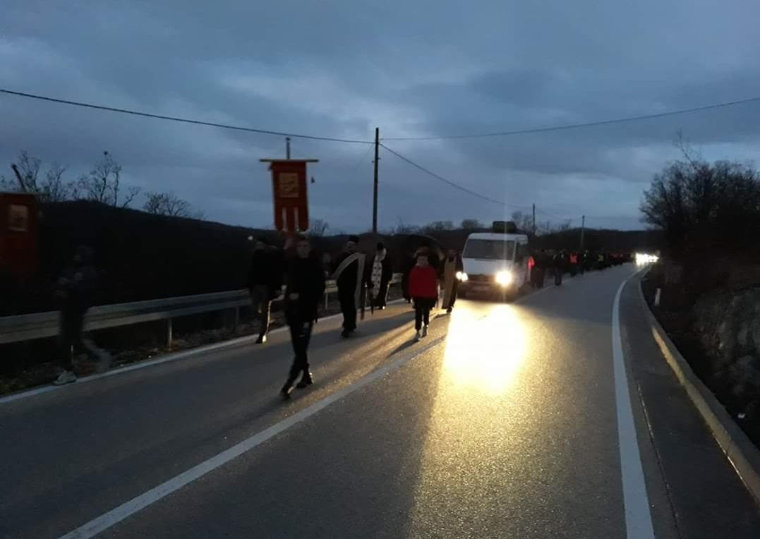 (ФОТО/ВИДЕО) Племе Бањани кренуло на литију