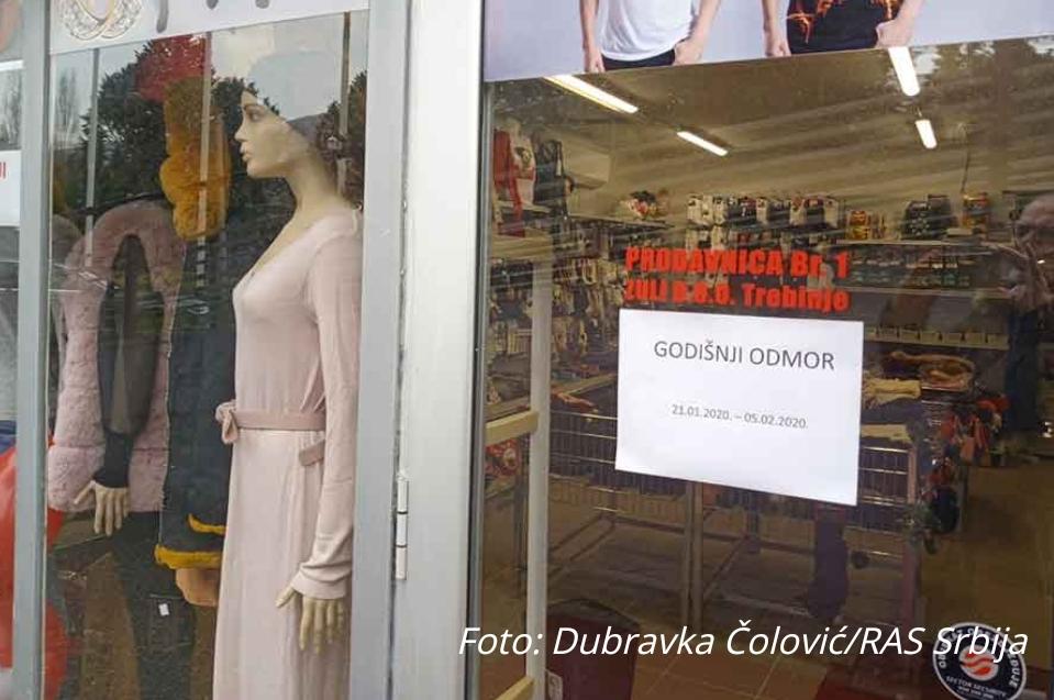 ПРОСЛАВА НОВЕ ГОДИНЕ ИЛИ КОРОНАВИРУС Затворена кинеска радња заинтригирала Требињце (ФОТО)