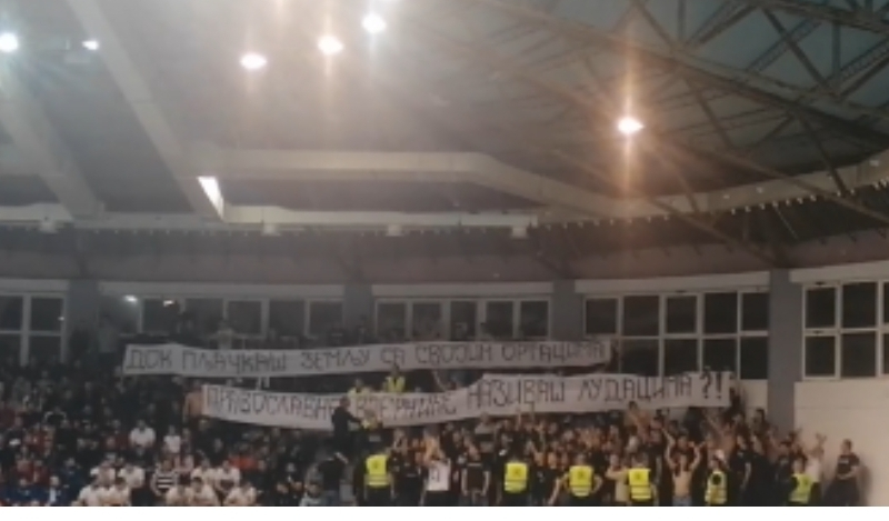 """(ВИДЕО) ГРОБАРИ:,,Устала је Црна Гора, Светиња се бранит' мора!"""":"""