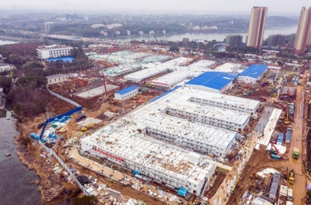 (ВИДЕО) Како су Кинези изградили болницу за 10 дана