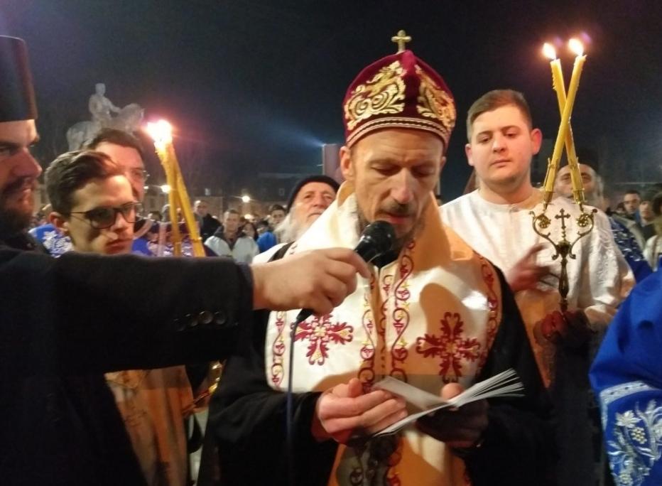 Пјешке од Мркоњића до Требиња: СВЕТОВАСИЛИЈЕВСКА ЛИТИЈА за одбрану светиња у Црној Гори