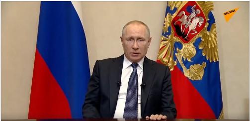 Путин: Цијели април нерадни, плате радницима редовне