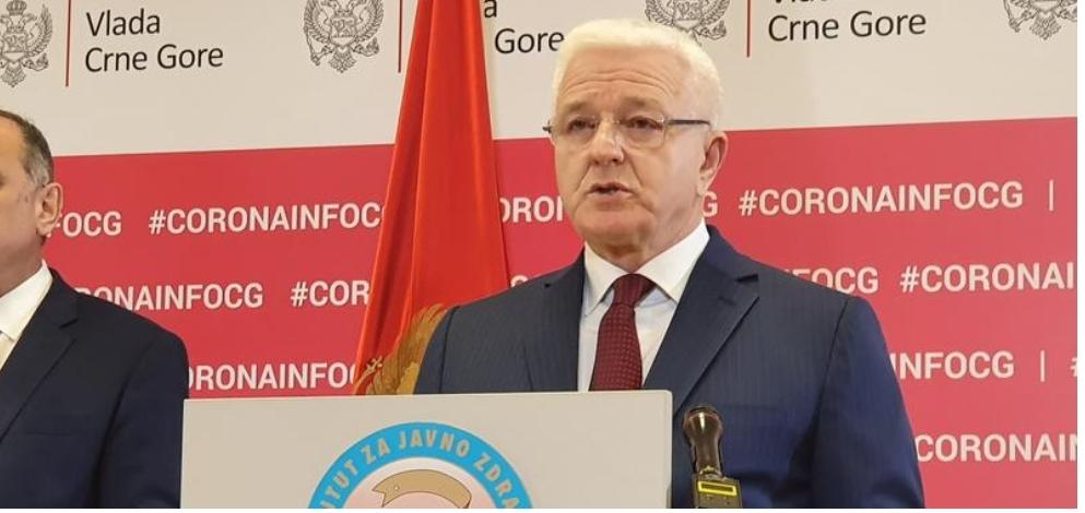 """""""Пала"""" и Црна Гора: Потврђено, двије особе заражене коронавирусом"""