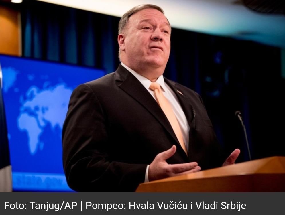 Државни секретар САД: Хвала Вучићу и Влади Србије