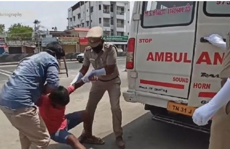 """Прекршили полицијски сат у Индији, полиција их убацила у возило са """"зараженом"""" особом"""