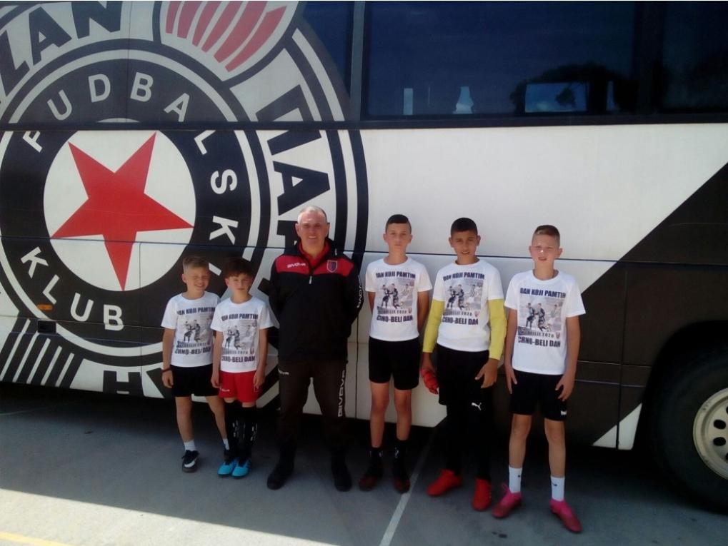 Млади Херцеговци на смотри Партизанових талената (ФОТО)