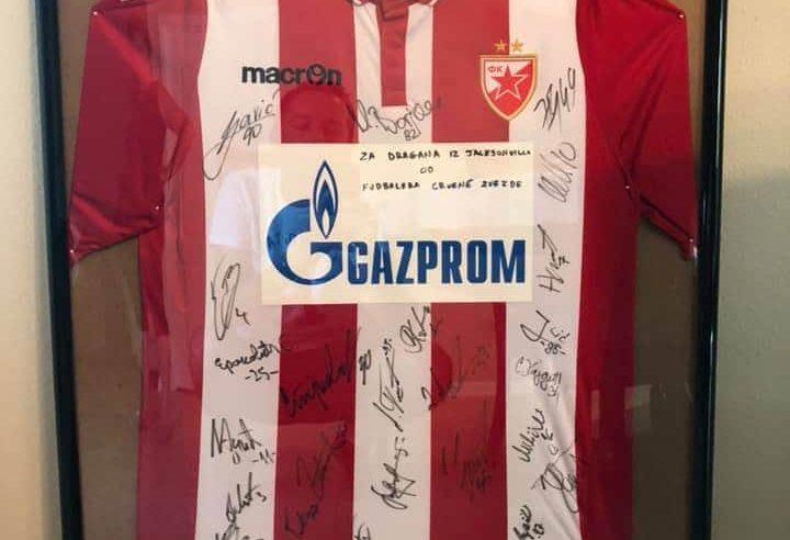 За Софијино лијечење продаје оригинални дрес Црвене Звезде са потписима играча