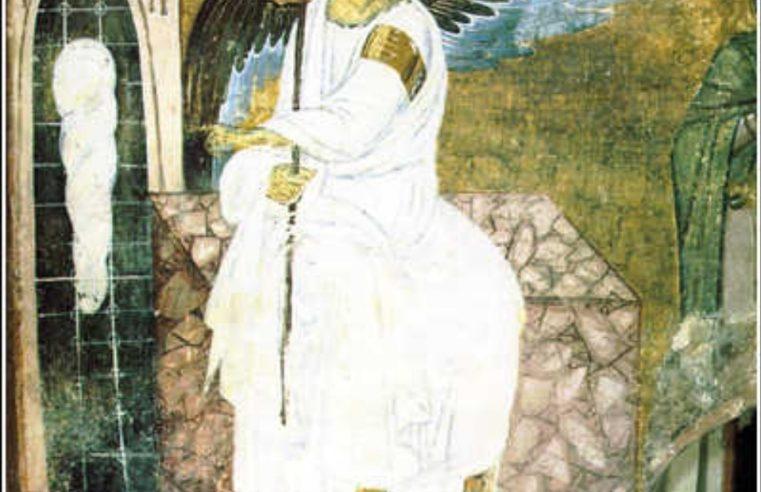 Фреска Бели Анђео: Једина је слика послата у Свемир као универзални симбол мира