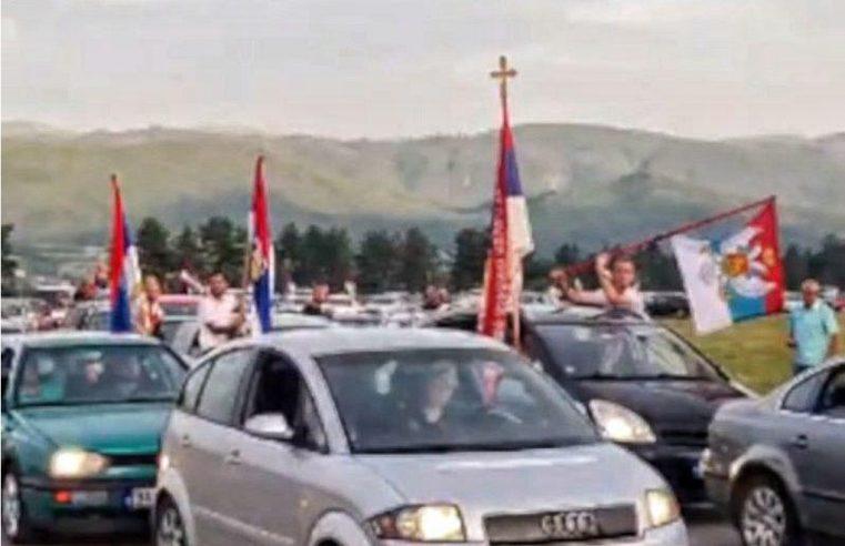 (ВИДЕО) Беранци ауто-литијом од 600 аутомобила обиљежили 807 година Епархије Будимљанско-никшићке!