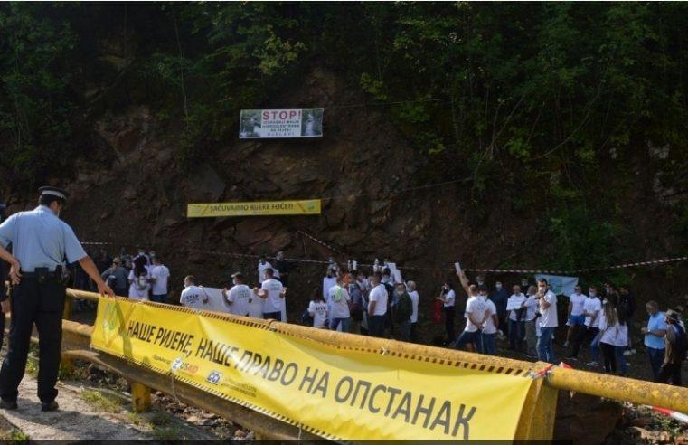Дигли се грађани Фоче: Уочени бројни пропусти у градњи мини хидроелектрана