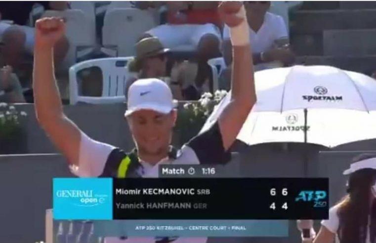 Кецмановић освојио прву АТП титулу у каријери