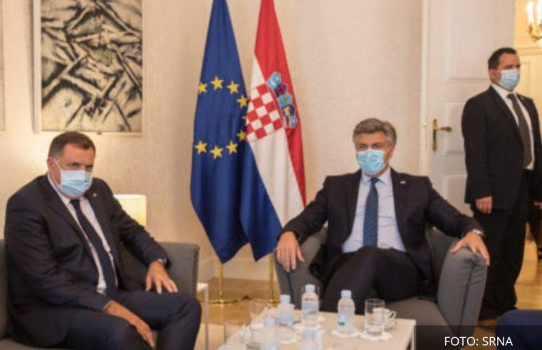 """Додик из Загреба поручује: """"Моја политика није сецесија"""""""