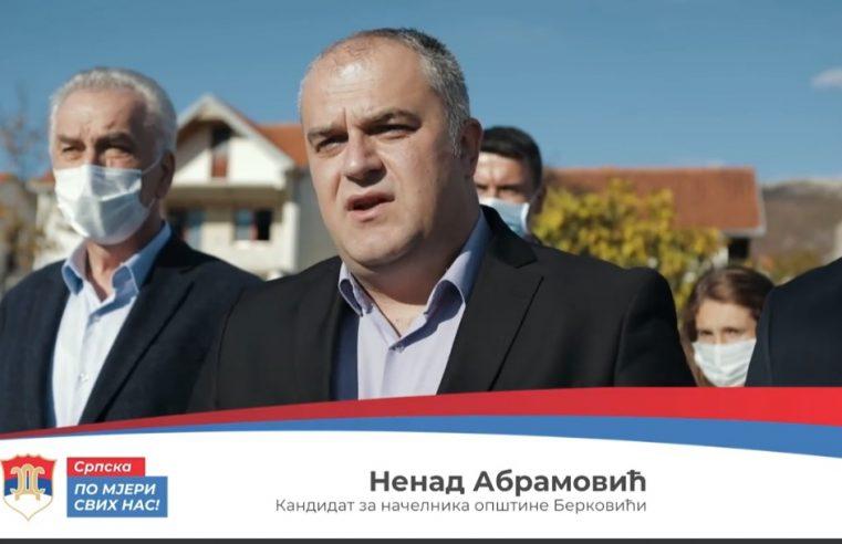 Абрамовић најавио нове инвестиције у Берковићима