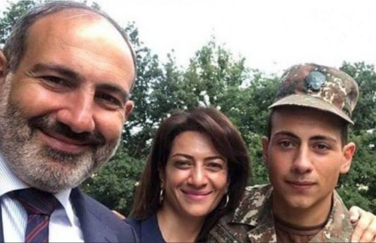 Син јединац јерменског премијера иде у рат, мајка поносна