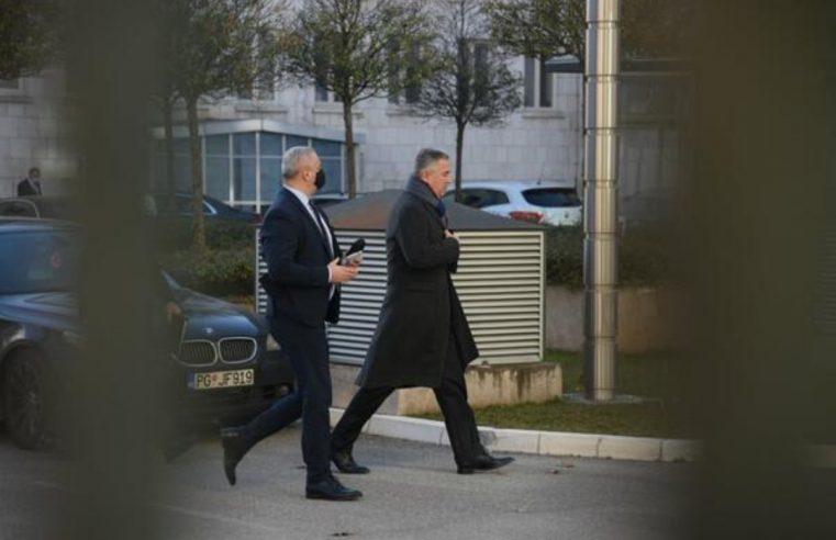 Ђукановић стигао на састанак код Кривокапића