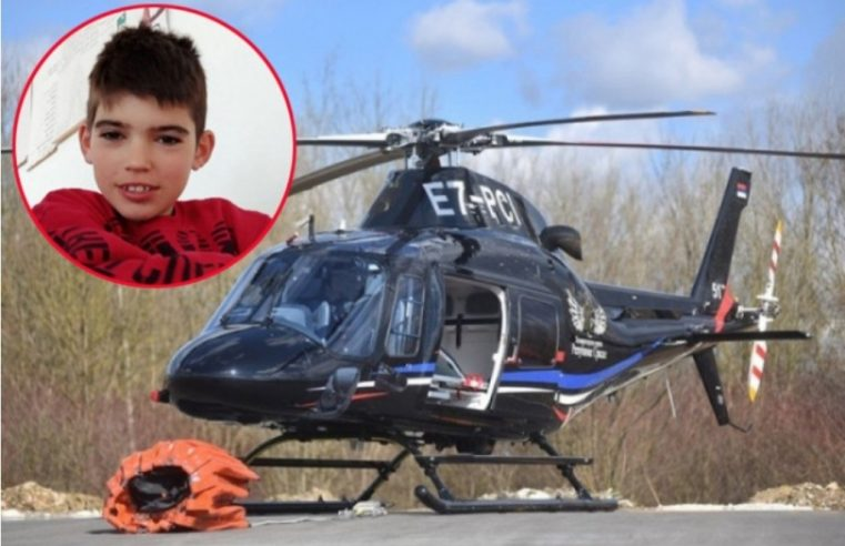 САМО ЈЕДАН ХЕЛИКОПТЕР ТРАЖИ НЕСТАЛОГ ДјЕЧАКА! Кустурић ИЗАЈВИО: Ако буде потребе послаћемо још два хеликоптера!!!
