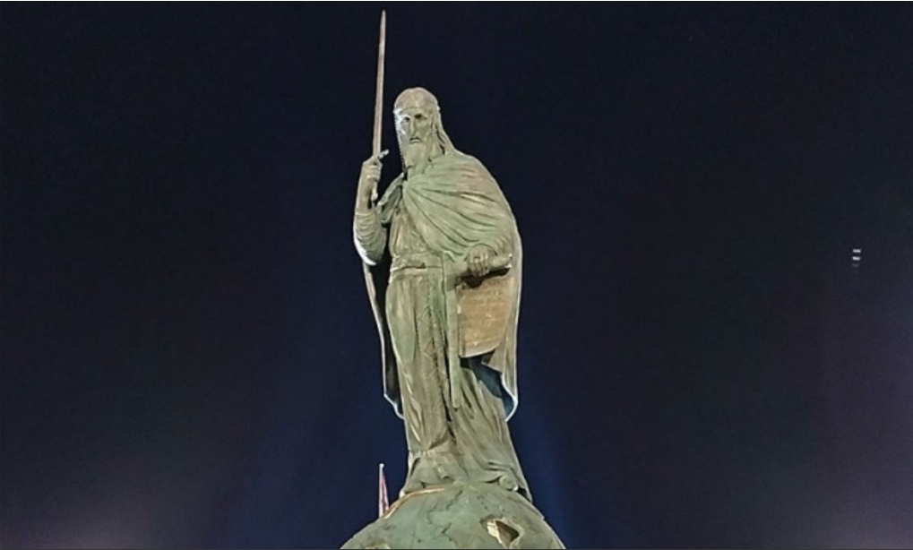 Приведен Авганистанац који је оштетио споменик Стефану Немањи у Београду