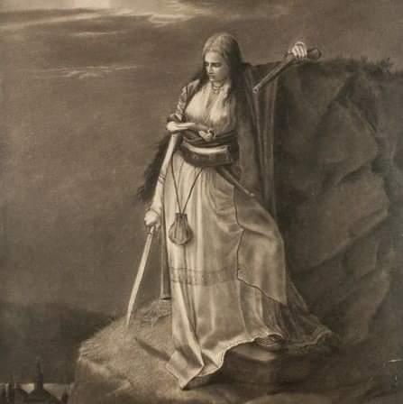 Ђорђе Крстић, Херцеговка на стражи, 1876.