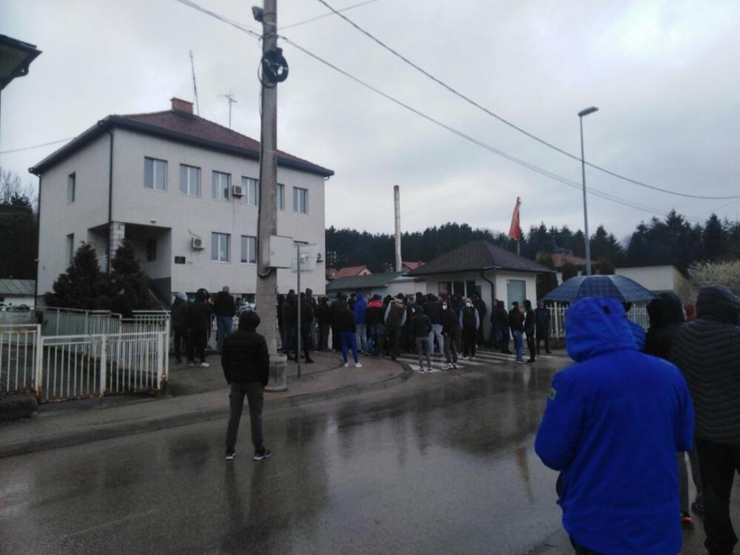 Протест у Пљевљима због именовања Ђурђевића за начелника полиције