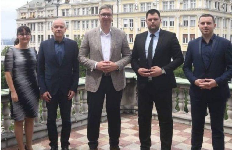 Вучић угостио градоначелника Марка Ковачевића: Србија ће помоћи Никшић!