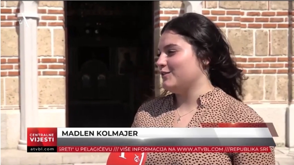 Љубав и православље Мадлен из Аустрије довели у Херцеговину (ВИДЕО)