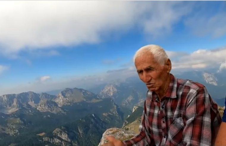 ВИДЕО: Војин Мишељић у 87 години на највишем врху Балкана