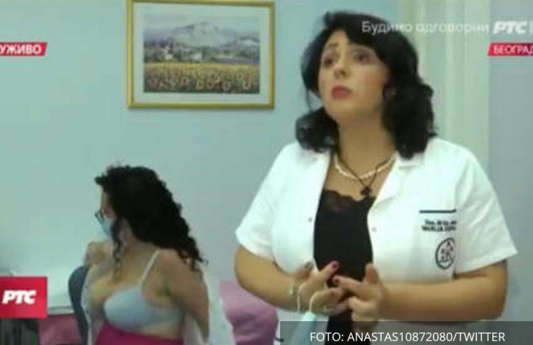Докторка причала о вакцини, а онда јој се бујна колегиница почела скидати (ВИДЕО)