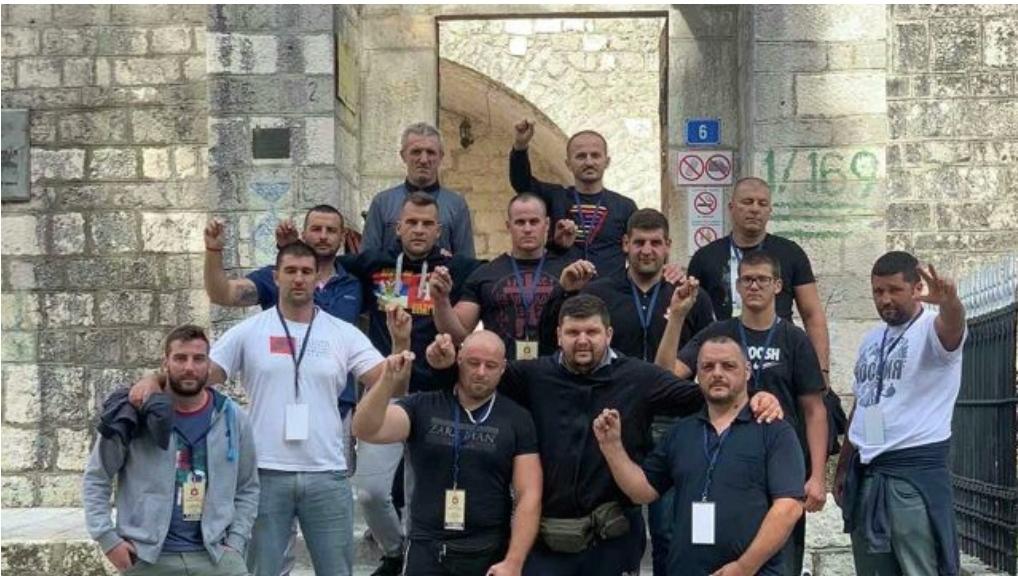 Ко су момци који су били у Цетињском манастиру током устоличења?