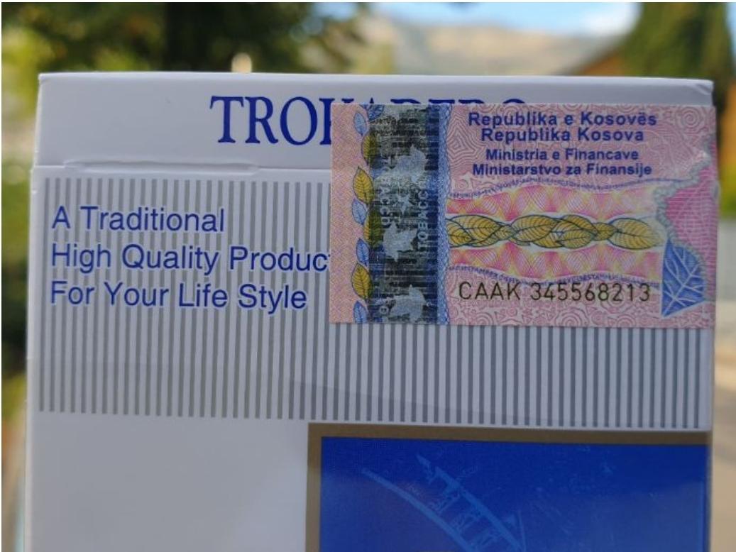 Цигарете са маркицом Косова* се продају на ТРЕБИЊСКИМ улицама