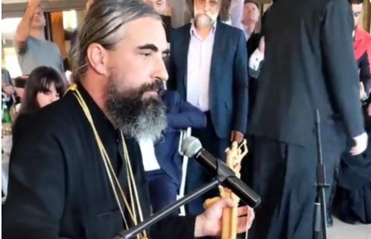 (ВИДЕО-ФОТО) Епископ Методиjе загуслао: Гусле су утабале пут нашег спасења