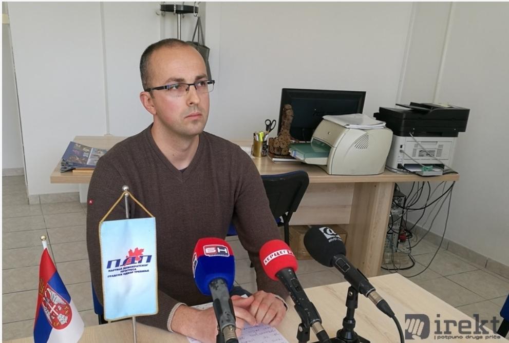 ЗВАНИЧНО: Саша Борјан постављен на чело требињског ПДП-а